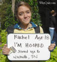 College and University health educators and drug addiction counseling centers and services are free to share these student messages.  Rachel's simple 'I'm hooked' message is probably the most popular of all