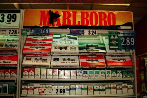 How much does a carton of cigarettes Gold Crown cost in Michigan