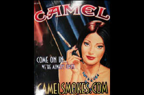 Camel - come on in we're always open.  Camel cash, auctions, games and more?  Who is R.J. Reynolds trying to appeal to with its games?