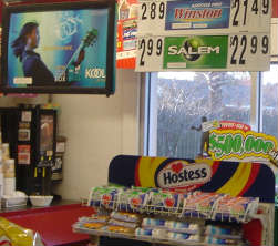 The convenience store nearest the home of South Carolina's governor sells cigarettes above Hostess cupcakes