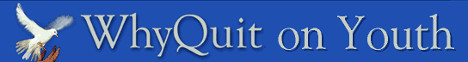 WhyQuit.com why quit on youth banner