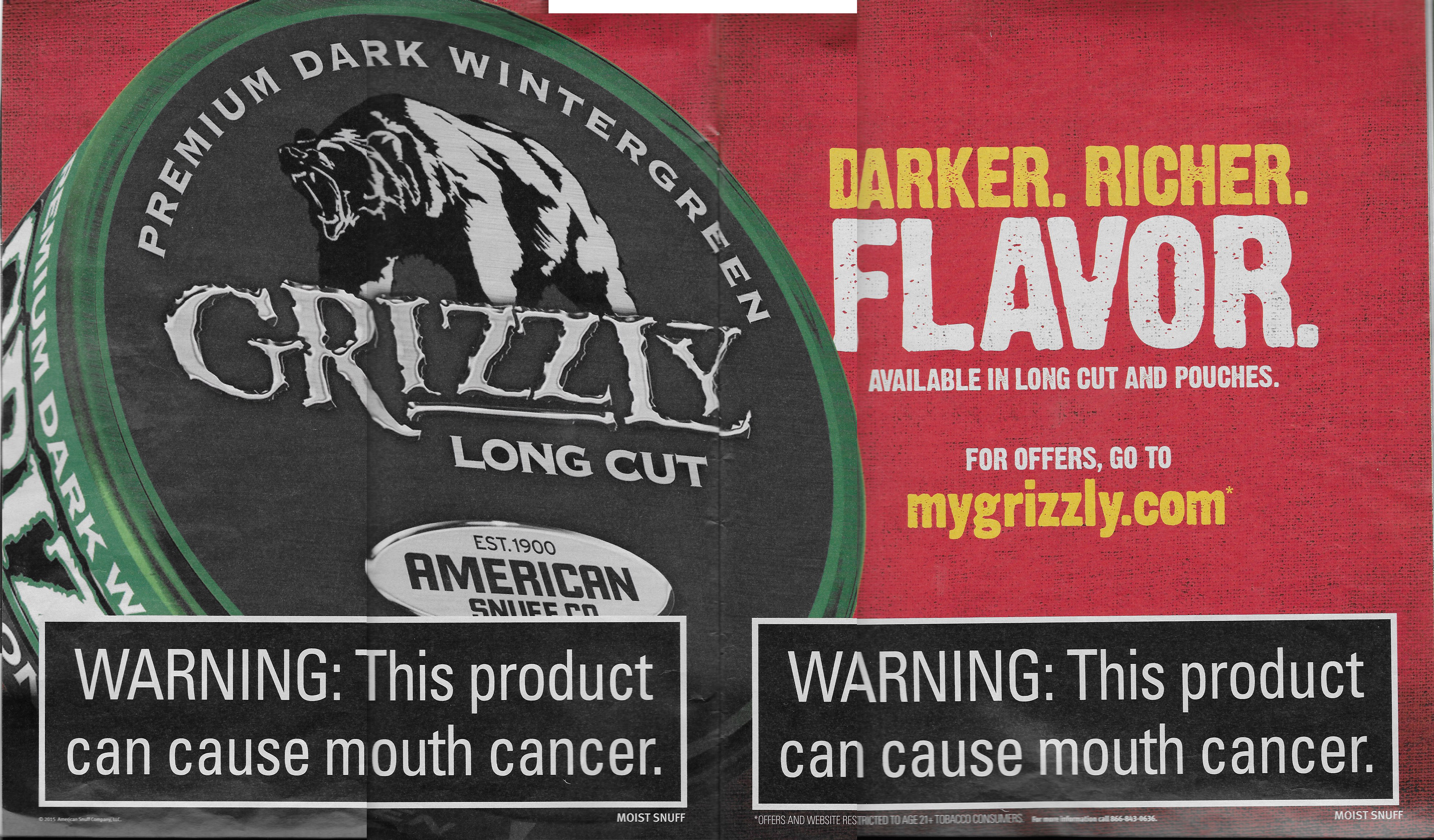 grizzly tobacco on pinterest grizzly chewing tobacco