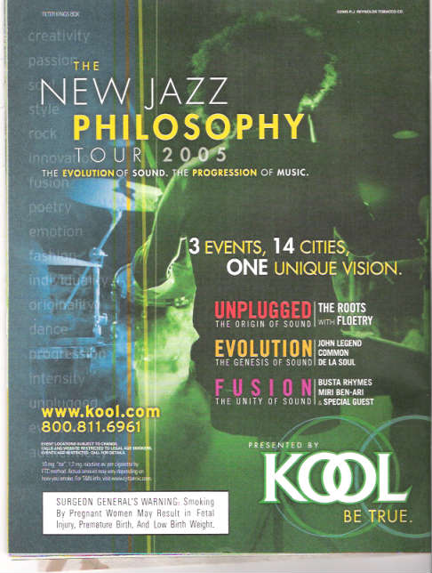 Kool's New Jaz Philosophy Tour 2005