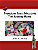 Click to learn more about Freedom from Nicotine - The Journey Home, a free stop nicotine and stop smoking e-book