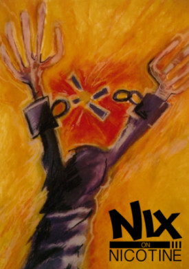 Nix On Nicotine theme poster