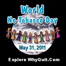 WhyQuit.com's World No Tobacco Day 2011 Logo
