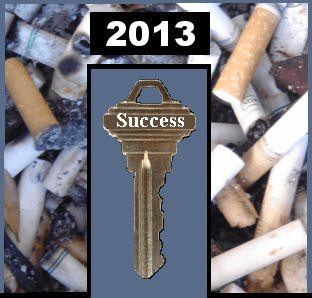 What is the key to quitting smoking during 2006?
