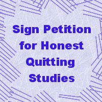 Sign the petition for honest quit smoking studies