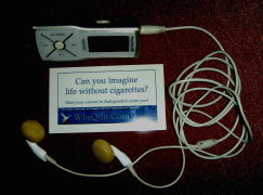 MP3 audio stop smoking counseling