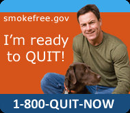 Centers for Disease Control (CDC) smoker referral icon for its Tips from Smokers campaign