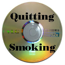 picture of a quit smoking video disc that may help you kick the cigarette habit