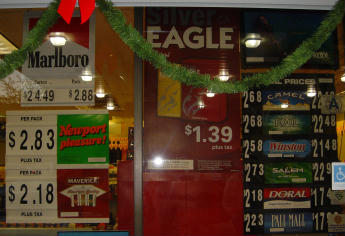 Eagle cigarettes are selling in Charleston South Carolina for $1.39 a pack
