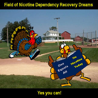 Field of dreams to stop smoking cold turkey