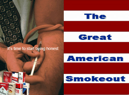 The 35th Great American Smokeout on Thursday, November 18 - WhyQuit's cold turkey quit smoking tips