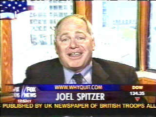 Joel appearing on Fox News on May 12, 2004