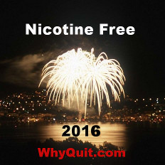 WhyQuit's 2016 New Year's quit smoking resolution banner.  Please share!!