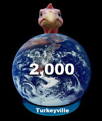 Population of Turkeyville, WhyQuit.com's Facebook stop smoking support group, hits 2000