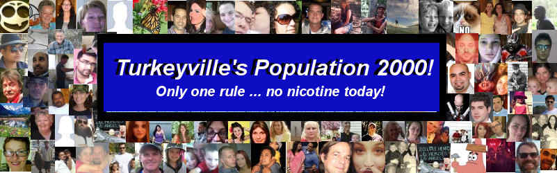 Population of WhyQuit's Facebook group Turkeyville hits 2,000