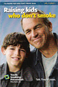 Cover of Raising who don't smoke, by Philip Morris Youth Smoking Prevention