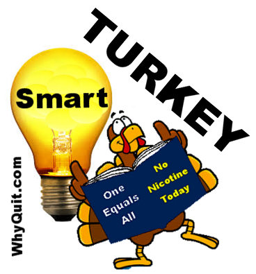 quit smoking smart turkey