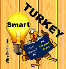 WhyQuit, home to smart turkey nicotine cessation!