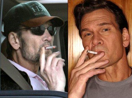 Patrick Swayze, 57, Smoker, Dead