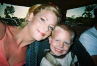 Deborah's 21 year-old daughter Amanda and her nephew Austin