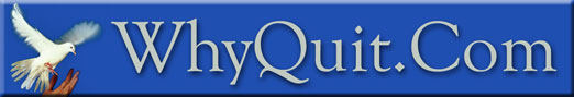 WhyQuit.com - a free online quit smoking forum offering motivation, education, skills development, counseling and serious group support